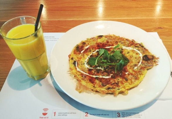 Omelette @Wagamama, Heathrow Terminal 5