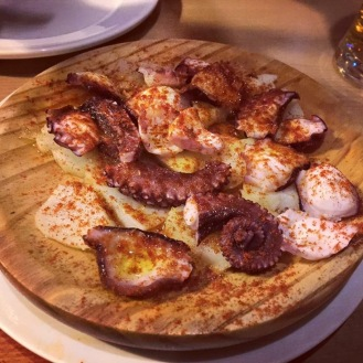 Pulpo a la gallega at Andalucia, London West End