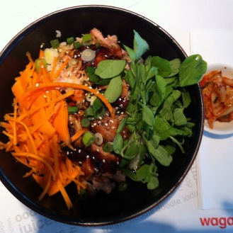 Chicken Teriyaki Donburi @Wagamama, Heathrow Terminal 5