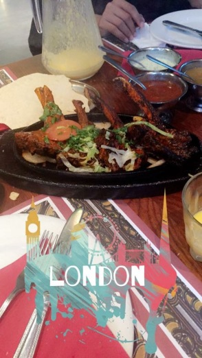 Famous Lamb Chops @Tayyabs, East London